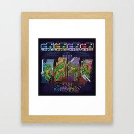 Mutant Ninja Turtle Teenagers Framed Art Print