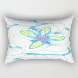 Study in Bloom  Rectangular Pillow