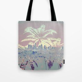 Palm Trees over L.A. Tote Bag