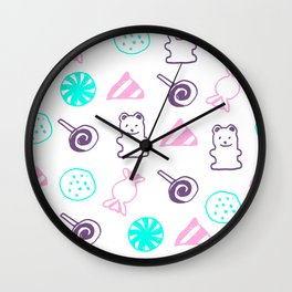candy Lover Wall Clock
