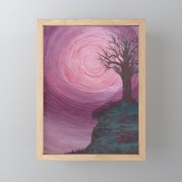 Vortex Sky Framed Mini Art Print