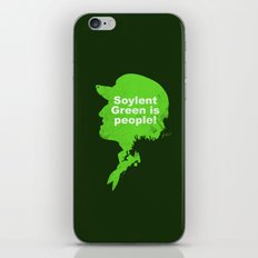 Soylent Green – Silhouette Quote iPhone & iPod Skin