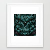 viking Framed Art Prints featuring Viking by RingWaveArt