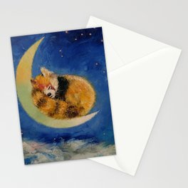 Red Panda Dreams Stationery Cards