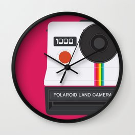 Vintage Polaroid 1000 Wall Clock