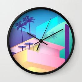 Pastel Paradise #006 Wall Clock
