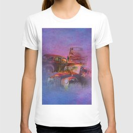 cars lost in the mist of time T-shirt