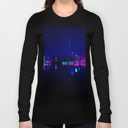 Cyberpunk Miami Long Sleeve T-shirt