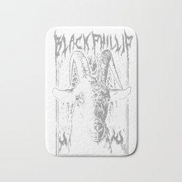 Black Metal Phillip Bath Mat