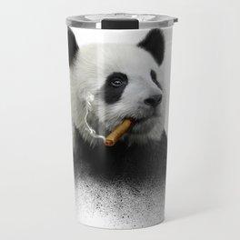 Panda contemplator Travel Mug