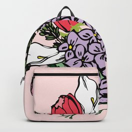 Bouquet bloom Backpack
