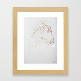 Horse 313  Framed Art Print