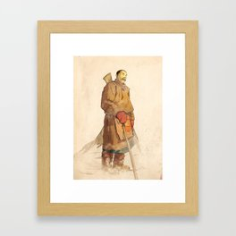- sherpa - Framed Art Print