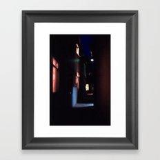 Gipsy Street Framed Art Print