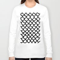 scales Long Sleeve T-shirts featuring Scales by Geryes