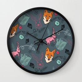 Bosque Wall Clock