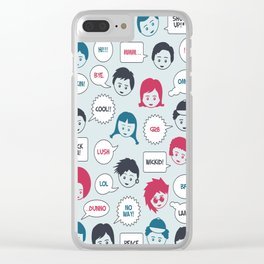 Kids Speak Clear iPhone Case