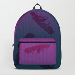 Falling Feathers Backpack