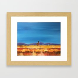 Gaucho at the Blood River Framed Art Print