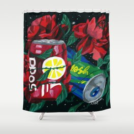 COSMIC DRINK Shower Curtain