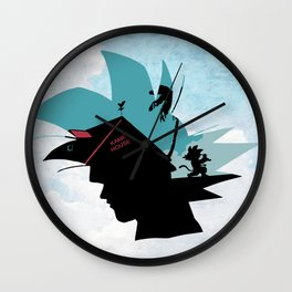 Kame House V2 Wall Clock