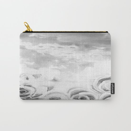 Fading Roses Silver Lining Carry-All Pouch