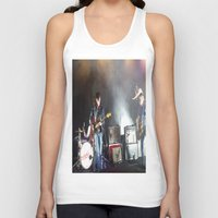 arctic monkeys Tank Tops featuring Arctic Monkeys in Brooklyn, New York by The Electric Blue / Yen-Hsiang Liang (Gr