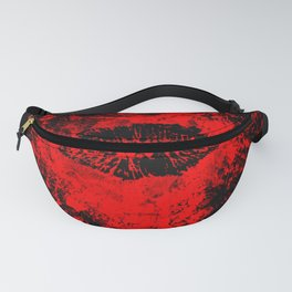 Gothic Bloody Kiss Fanny Pack