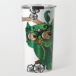 Jaded Owl  Travel Mug