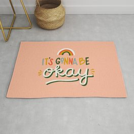 It's Gonna Be Okay – Retro Palette Rug