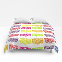 Colorful Papel Picado Comforters