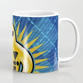 Gold Starman Coffee Mug