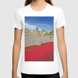Tower of London Poppies T-shirt
