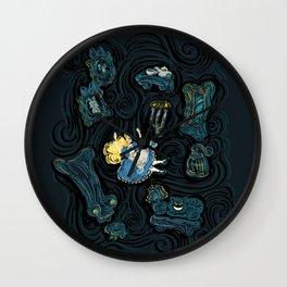 Alice's Fall Wall Clock