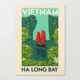 Vietnam - Ha Long Bay Canvas Print