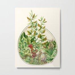 GoaTerrarium Metal Print