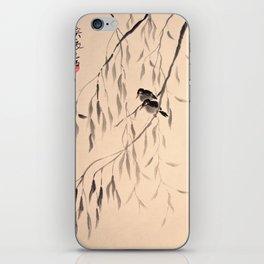 Two Black Birds iPhone Skin