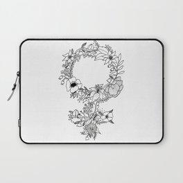 Feminist Flower  2.0 Laptop Sleeve
