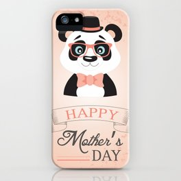 Happy Mother's Day ~ Panda iPhone Case