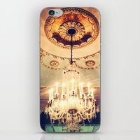 chandelier iPhone & iPod Skins featuring Chandelier by elle moss