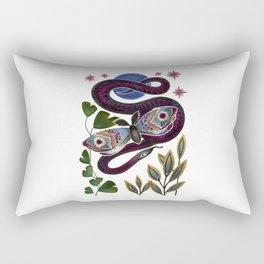 Moth & Snake Rectangular Pillow