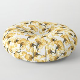 Light Mustard Floor Pillow
