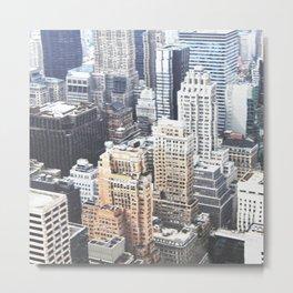 Manhattan Trip Metal Print