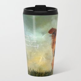 A Dogs Love Travel Mug