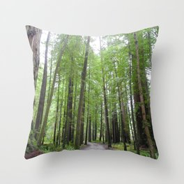 WELL-TRAVELED Throw Pillow