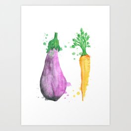Vegetables.  Art Print