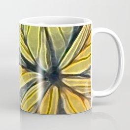 Doodled Aura-Leah Digitized Macro Coffee Mug