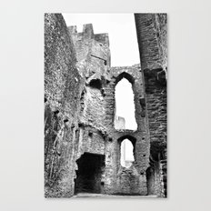 Caerphilly Castle Wales 2 Canvas Print