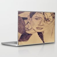 katniss Laptop & iPad Skins featuring Katniss Everdeen by KOverbee