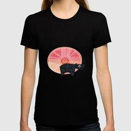 Black Rhino Sunset T-shirt